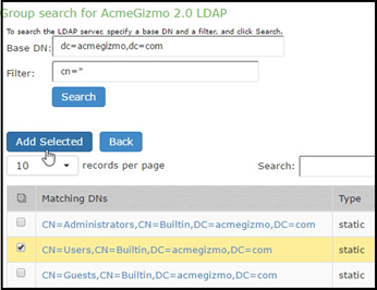 Using the LDAP Server Catalog