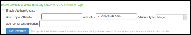 Configuring Authentication with an LDAP Server