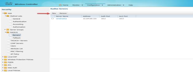 Configuring Cisco WLC using Web GUI