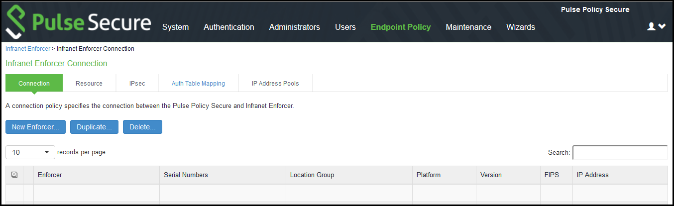 Configuring Check Point Infranet Enforcer in PPS